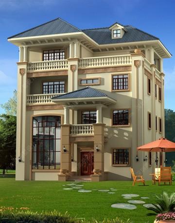 高品别墅设计图纸及效果图大全