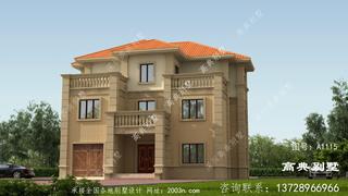 大气的三层别墅设计图