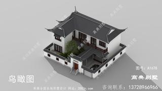 两层苏式别墅设计图首层203平方米
